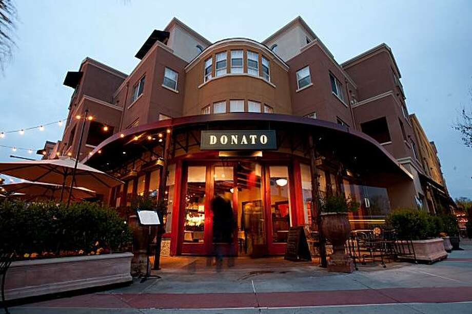 Donato Enoteca is situated in the heart of redeveloped downtown Redwood City near City Hall and is pictured here on March 5, 2010. Photo: Chad Ziemendorf, Special To The Chronicle