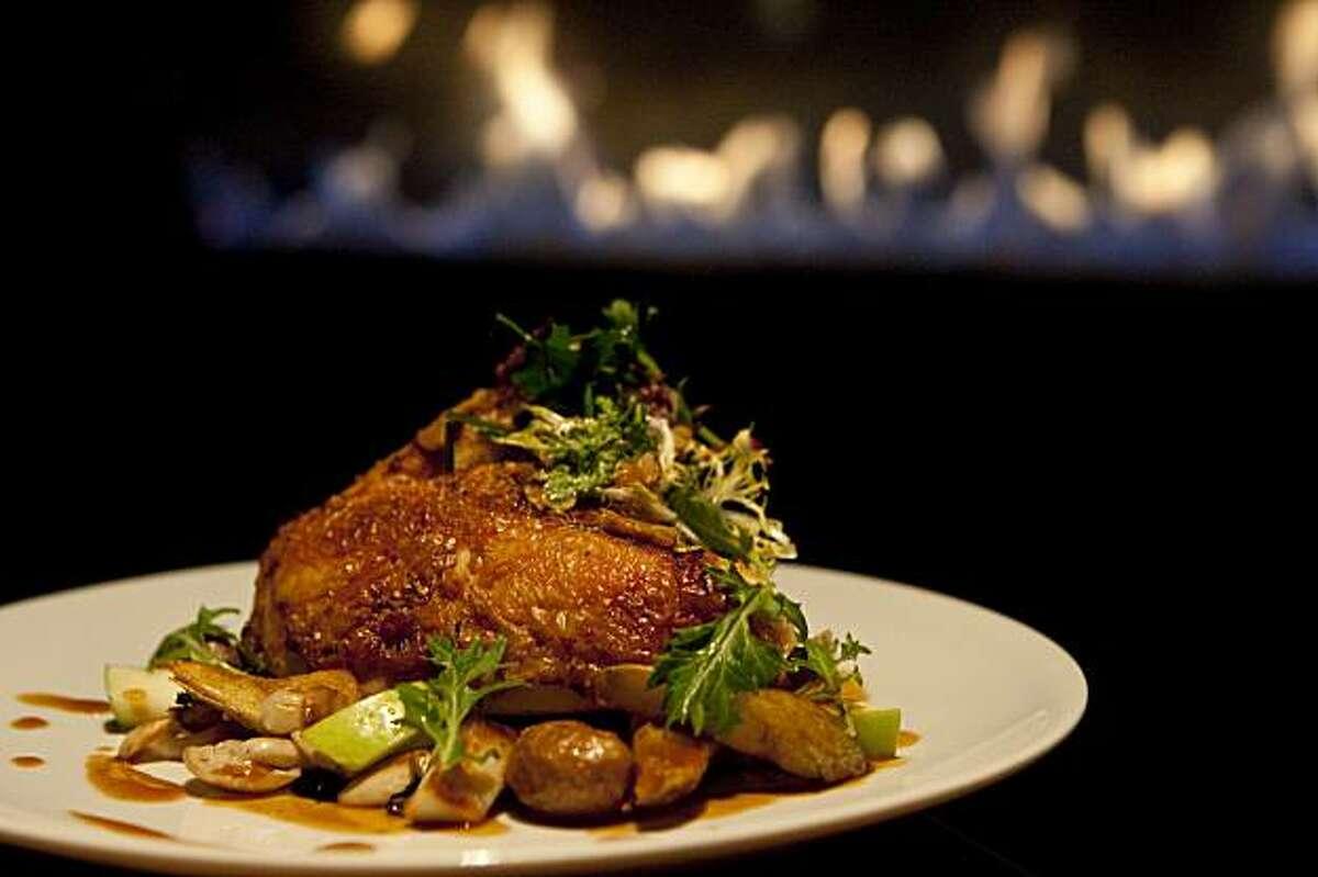 The rotisserie chicken at Manzanita at the Ritz-Carlton Highlands, Lake Tahoe in Truckee, Calif., on Friday, Jan. 22, 2010.