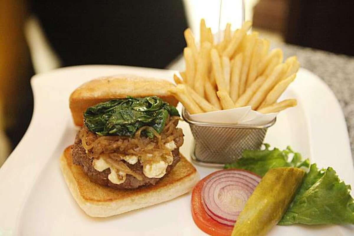 The Hubert Keller burger was photographed at Burger Bar on Dec. 11, 2009 in San Francisco, Calif.