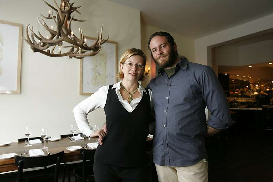 What happens when you pair an acclaimed pastry chef (Elisabeth Prueitt) with a master baker (Chad Robertson)? You get one of the strongest culinary forces in the area. The couple are also owners of Tartine, a bakery, Bar Tartine, a restaurant, and wrote a cookbook, titled Tartine. Photo: Darryl Bush, The Chronicle