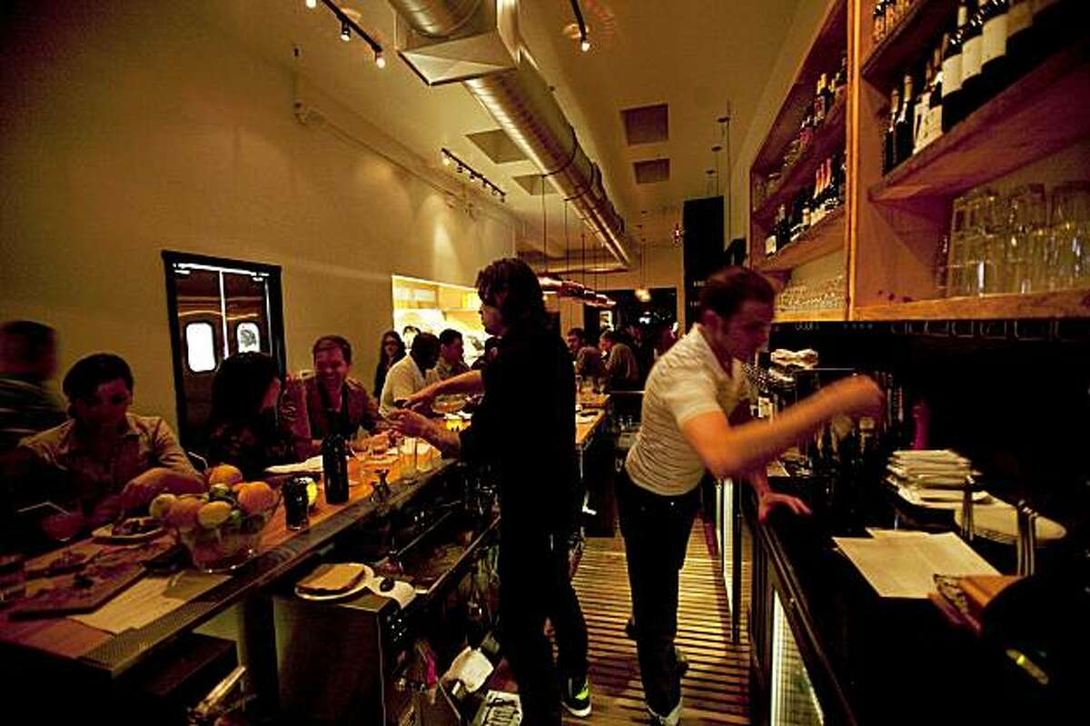 An interior view of the Starbelly Restaurant in San Francisco, Calif. on Friday, Oct. 2, 2009.