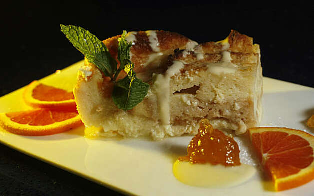 Bread pudding is a favorite dessert  of customers at the Neela's Indian Restaurant, Tuesday Sept. 29, 2009, in Napa, Calif. Photo: Lacy Atkins, The Chronicle