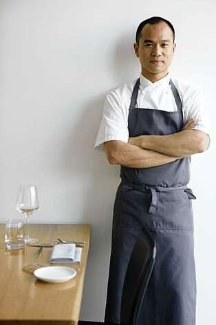 Commis Chef and Owner James Syhabout stands for a portrait in his new restaraunt on Piedmont Avenue on Friday Sep. 11, 2009 in Oakland, Calif. Photo: Mike Kepka, The Chronicle