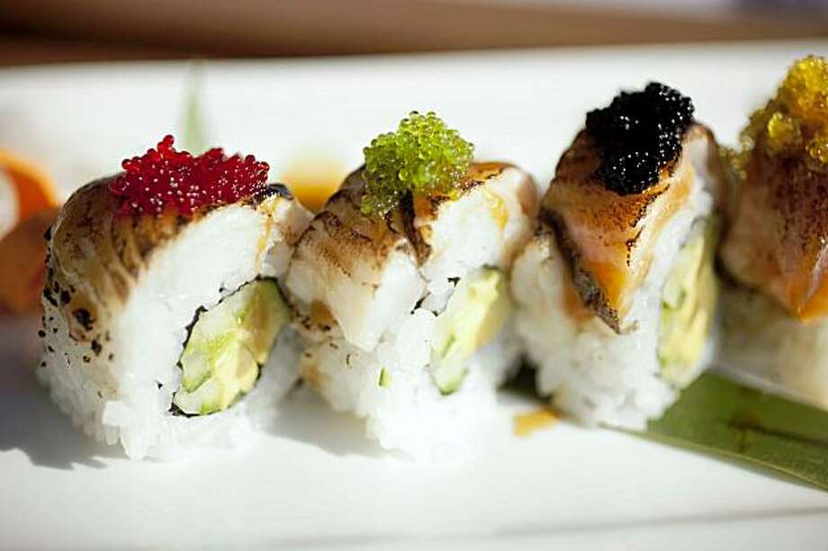 Tataki roll served at Tataki Sushi and Saki Bar in San Francisco, Calif. on Friday, Aug. 7, 2009. Photo: Stephen Lam, The Chronicle