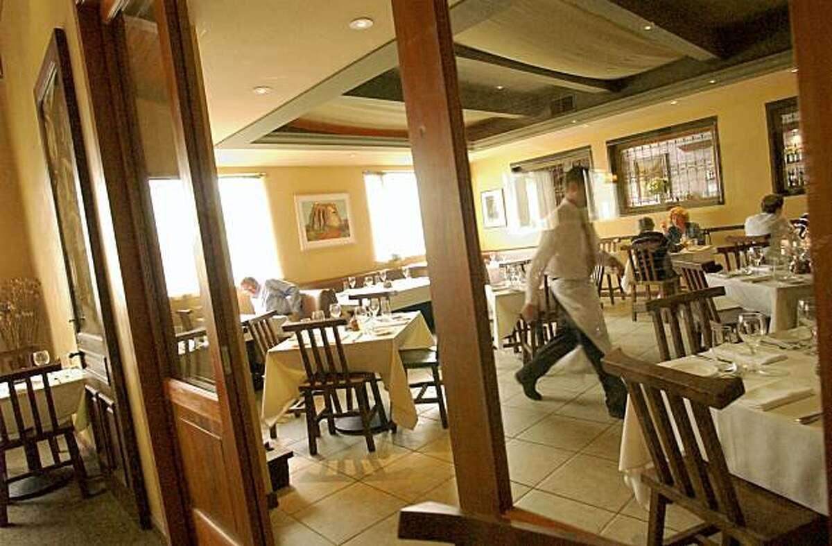 SANTI29052}_pg.jpg restaurant called Santi in Geyserville. Shot on 6/11/03 in Gyserville 6/11/03 in Gyserville. PENNI GLADSTONE / The Chronicle