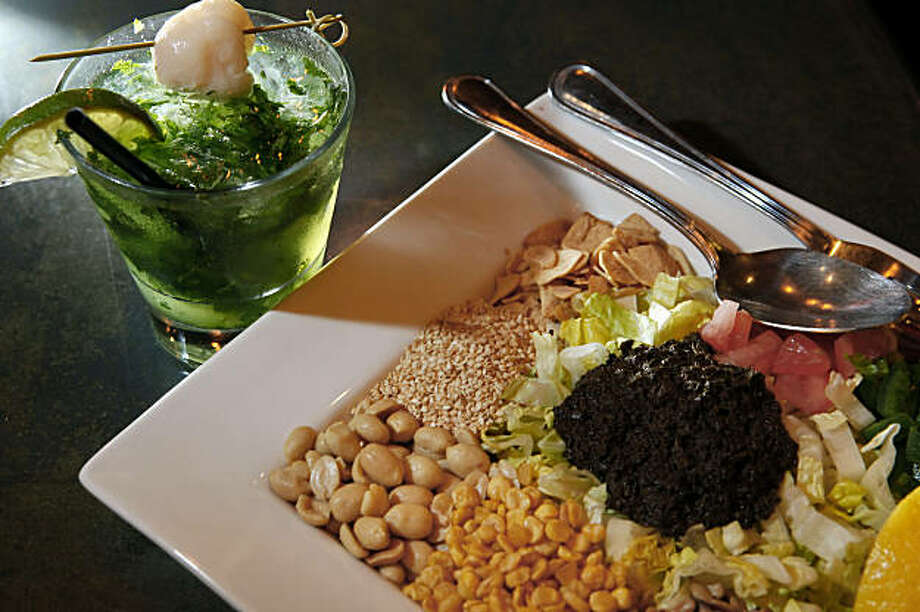 The Tea Leaf Salad served at Burma Superstar restaurant in Oakland, Calif., on Wednesday, July 14, 2009. The restaurant is located on Telegraph Avenue. Photo: Carlos Avila Gonzalez, The Chronicle