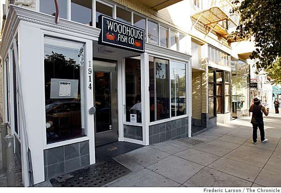 Woodhouse Fish Company in Pacific Height on Filmore Street in San Francisco, Calif., on July 8, 2009. Photo: Frederic Larson, The Chronicle