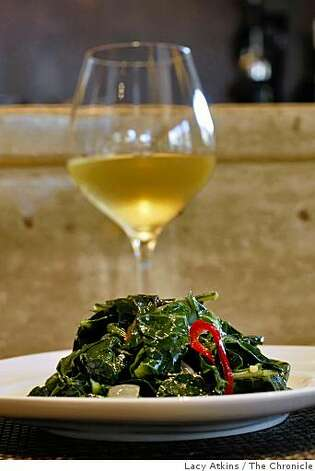 California Collards is one of the favorites of the customers at the new Pican restaurant, Wednesday June 24, 2009, in Oakland, Calif. Photo: Lacy Atkins, The Chronicle