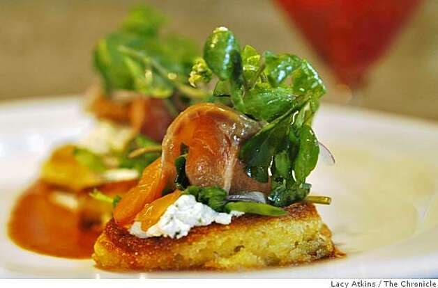 Bourbon and chile cured salmon is one of the favorites of the customers at the new Pican restaurant, Wednesday June 24, 2009, in Oakland, Calif. Photo: Lacy Atkins, The Chronicle