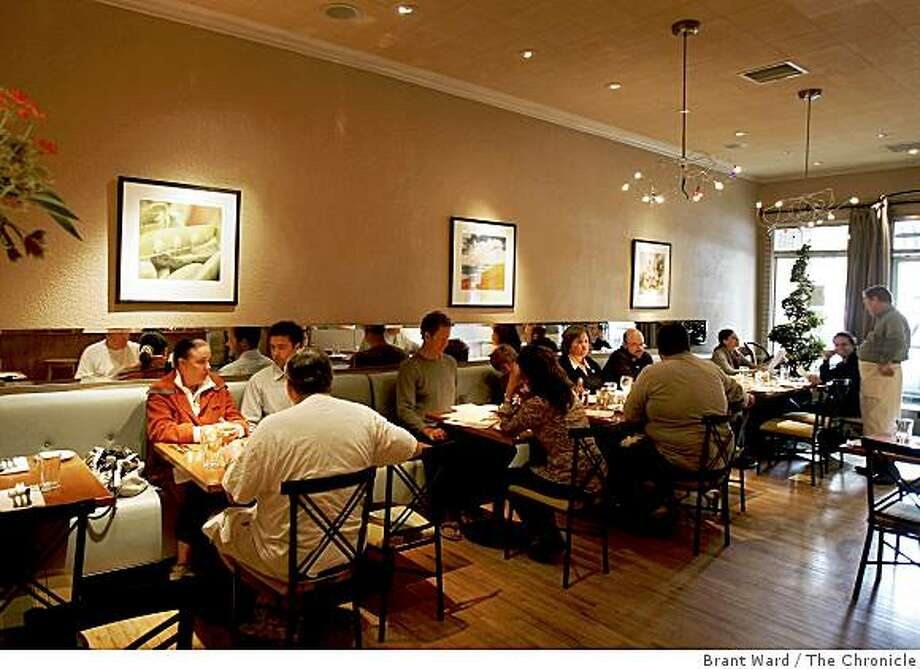 There are several smallish dining rooms that make up the interior at Dreamfarm. Dreamfarm, a restaurant on Sir Francis Drake Blvd. in San Anselmo, specializes in comfort foods. Photo: Brant Ward, The Chronicle