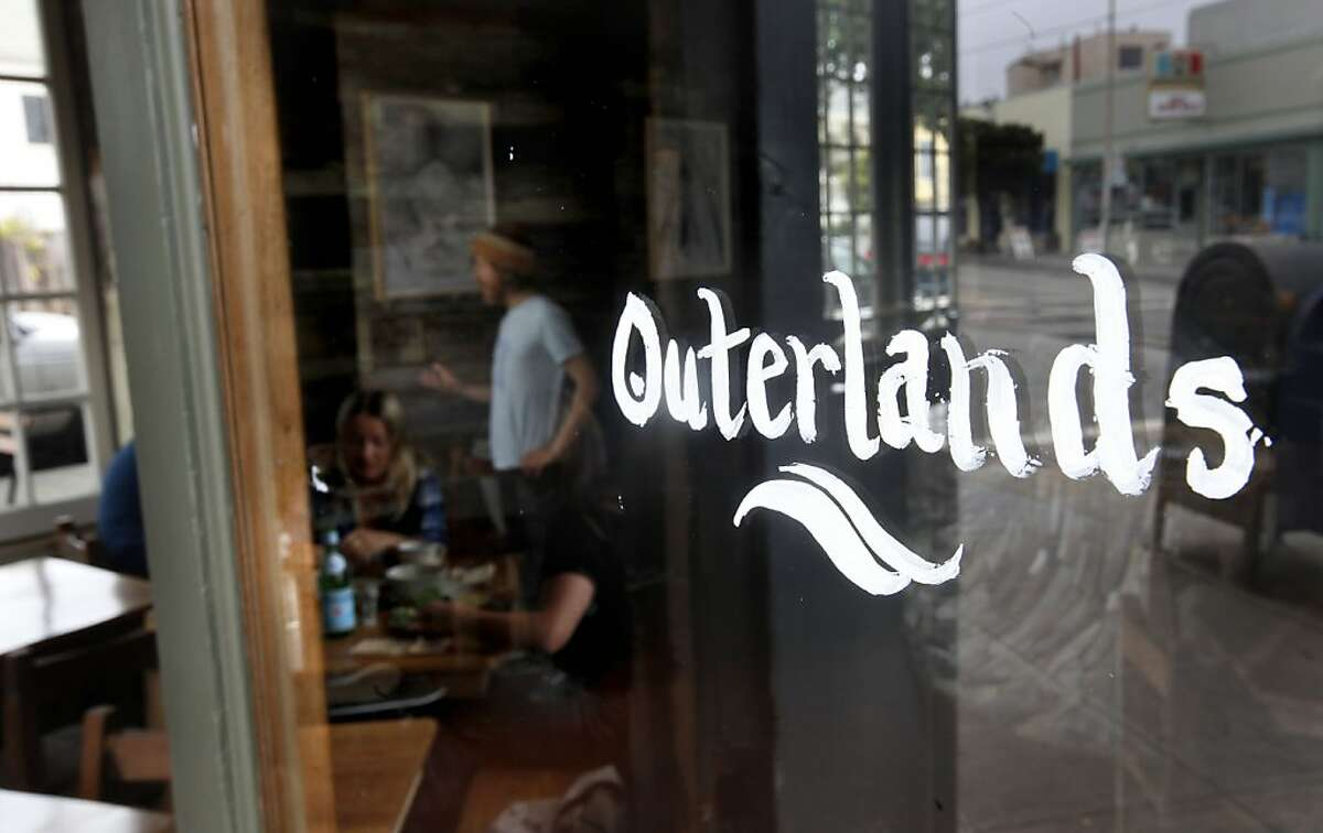 Restaurant review of the Outerlands restaurant in San Francisco, Calif., at the corner of Judah and 45th Streets, on Wednesday May 26, 2009.