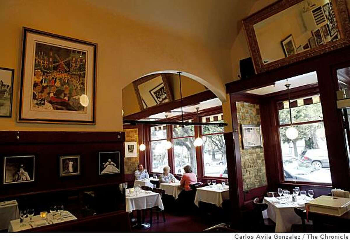 The interior of the Washington Square Bar and Grill in San Francisco, Calif., on Wednesday, May 5, 2009.