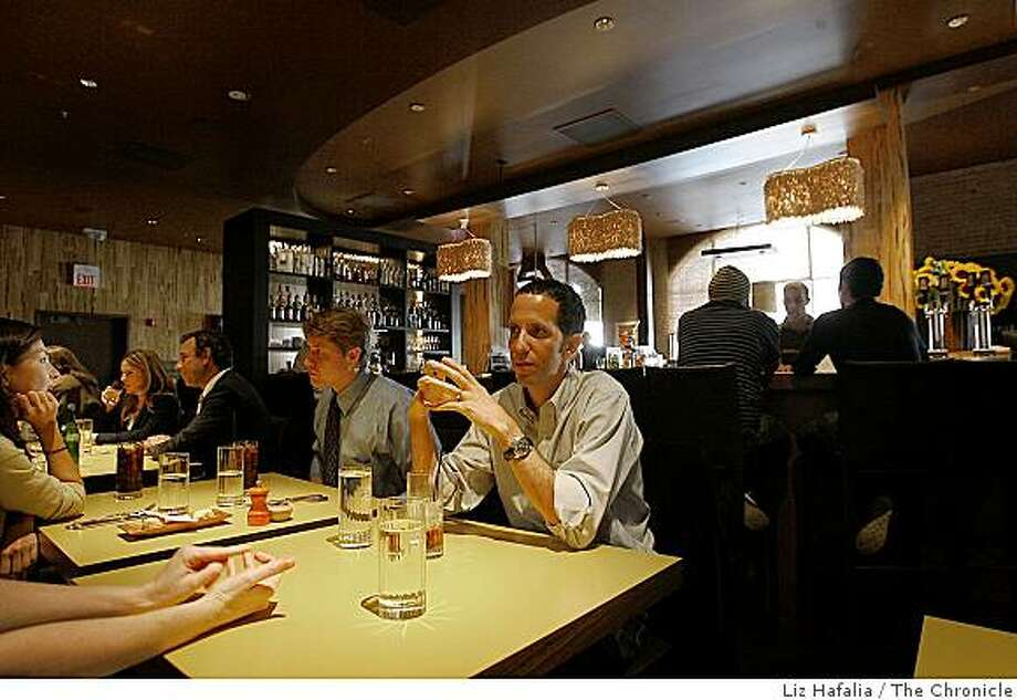 Overview of restaurant called 'Two'-- Photo: Liz Hafalia, The Chronicle