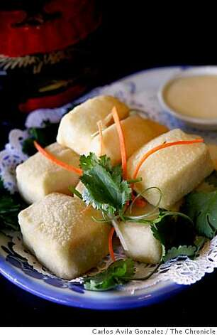 The Tofu Poppers served at Kopitiam, a Singaporean cafe in Lafayette, Calif. Photo: Carlos Avila Gonzalez, The Chronicle