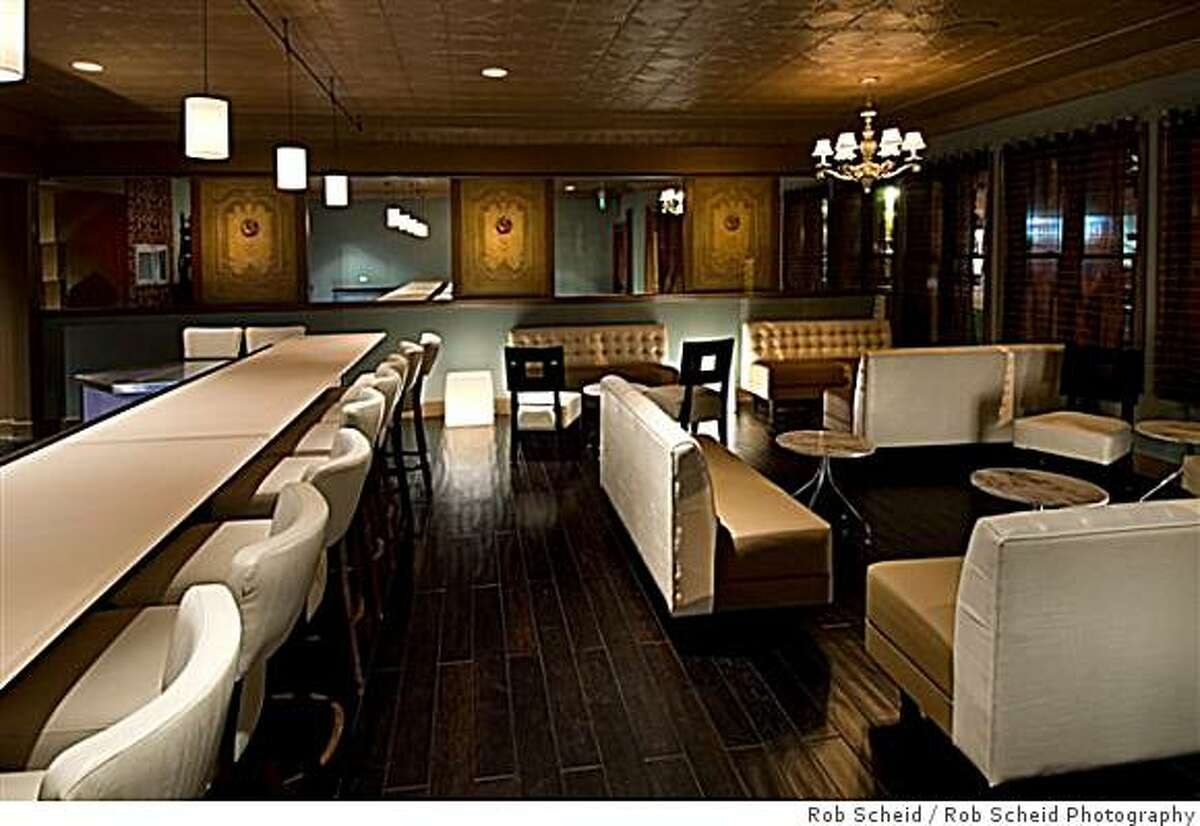 La Folie Lounge design by Shawn E. Hall.