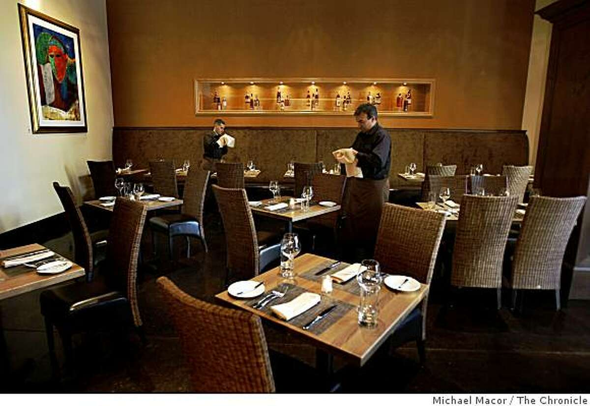 The main dining room at,