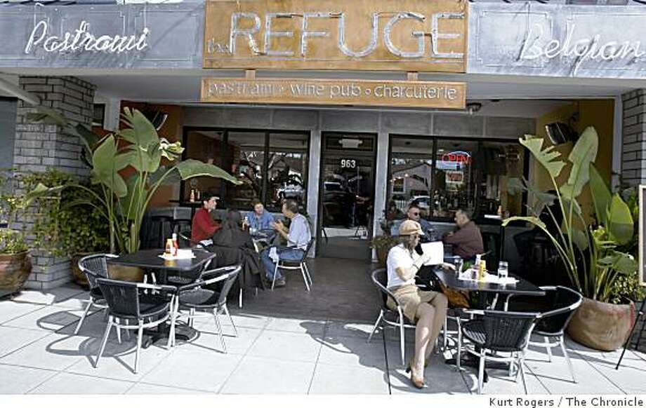 The Refuge a restaurant that specializes in Pastrami Sandwiches.and beer's from Belgian.on Tuesday  Mar 17,  2009 in San Carlos , Calif Photo: Kurt Rogers, The Chronicle