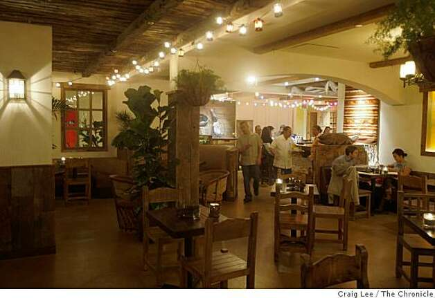 Tropisueno, a Mexican restaurant during dinner time in San Francisco, Calif., on January 20, 2009. Photo: Craig Lee, The Chronicle