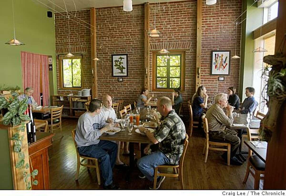 Anchalee Thai Cuisine restaurant in Berkeley, Calif., on September 24, 2008.