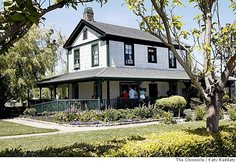 An 1850s farmhouse serves as the tastign room of Cline Cellars in Sonoma. Photo: Katy Raddatz, The Chronicle