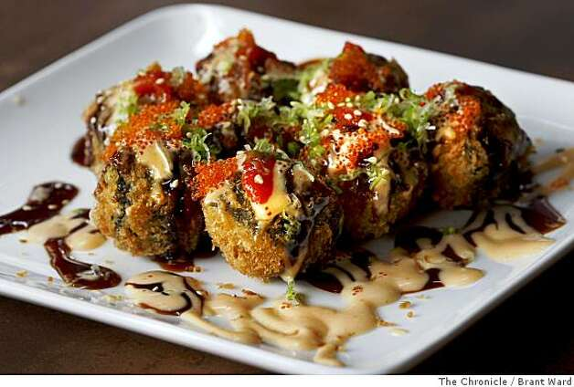 Firecracker balls are a popular appetizer at Domo, a sushi restaurant in San Francisco's Hayes Valley. Photo: Brant Ward, The Chronicle
