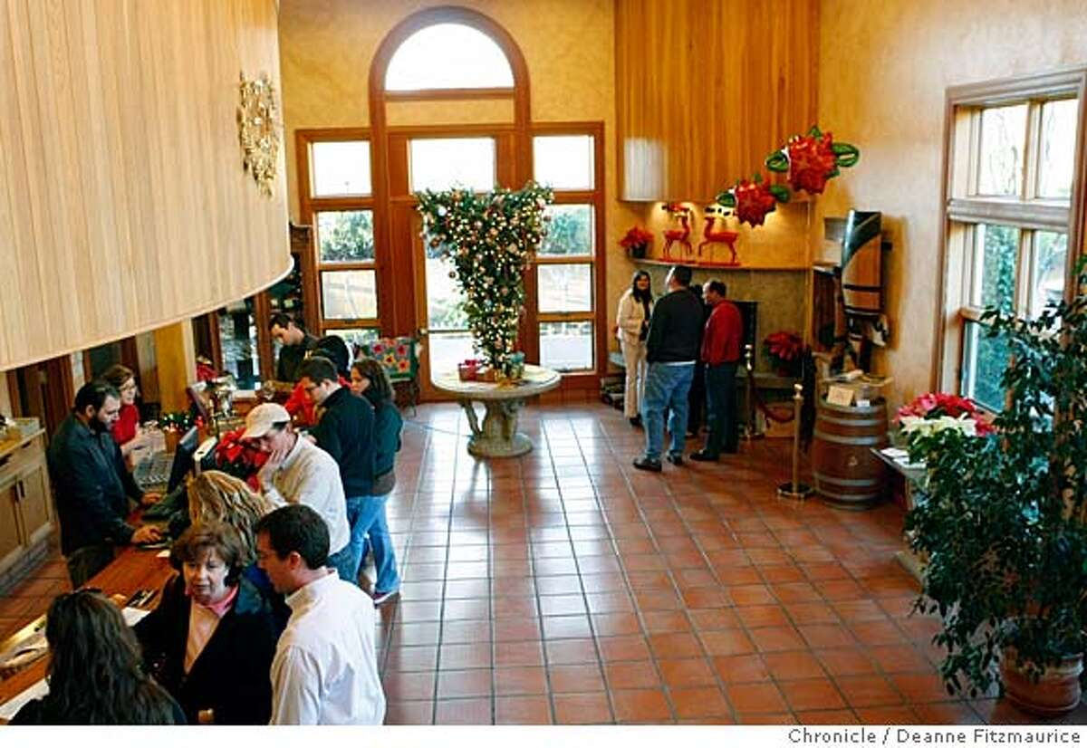 ###Live Caption:ZD winery in Napa. Wine tasting room reviews. Photographed in Wine Country on 12/26/07. Deanne Fitzmaurice / The Chronicle###Caption History: .jpg ZD winery in Napa. Wine tasting room reviews. Photographed in Wine Country on 12/26/07. Deanne Fitzmaurice / The Chronicle###Notes:###Special Instructions:Mandatory credit for photographer and San Francisco Chronicle. No Sales/Magazines out.