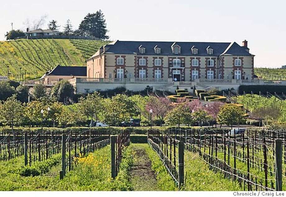 ###Live Caption:Domaine Carneros in Napa, Calif., on Thursday, February 28, 2008. Photo by Liz Hafalia / San Francisco Chronicle###Caption History:Domaine Carneros in Napa, Calif., on Thursday, February 28, 2008. Photo by Liz Hafalia / San Francisco Chronicle###Notes:Domaine Carneros in Napa, Calif., on Thursday, February 28, 2008.  Liz Hafalia / The Chronicle / Napa / 2/28/08  ** cq###Special Instructions:�2008, San Francisco Chronicle/ Liz Hafalia  MANDATORY CREDIT FOR PHOTOG AND SAN FRANCISCO CHRONICLE. NO SALES- MAGS OUT. Photo: Liz Hafalia