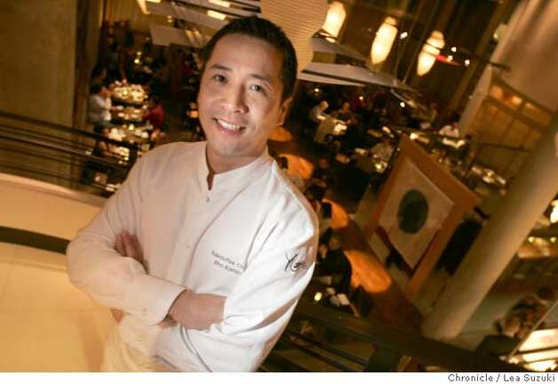 "Executive Chef Shotaro ""Sho"" Kamio at Yoshi's which is a new Japanese restaurant at 1330 Fillmore Street in San Francisco. Lea Suzuki/ The Chronicle Photo: Lea Suzuki"