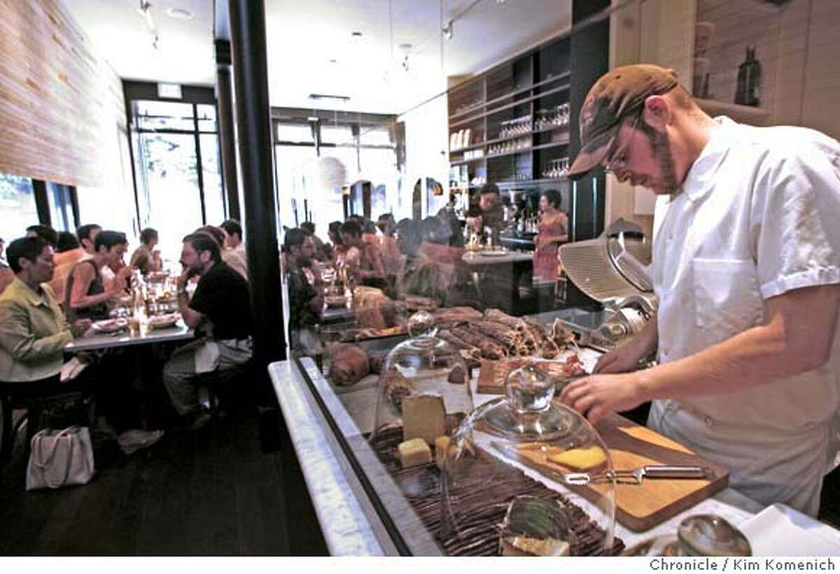 � d.05BARBAMBINO_121_KK.JPG Barbambino Cafe and Wine Bar at 2931 16th St. in San Francisco features Italian dishes and has a
