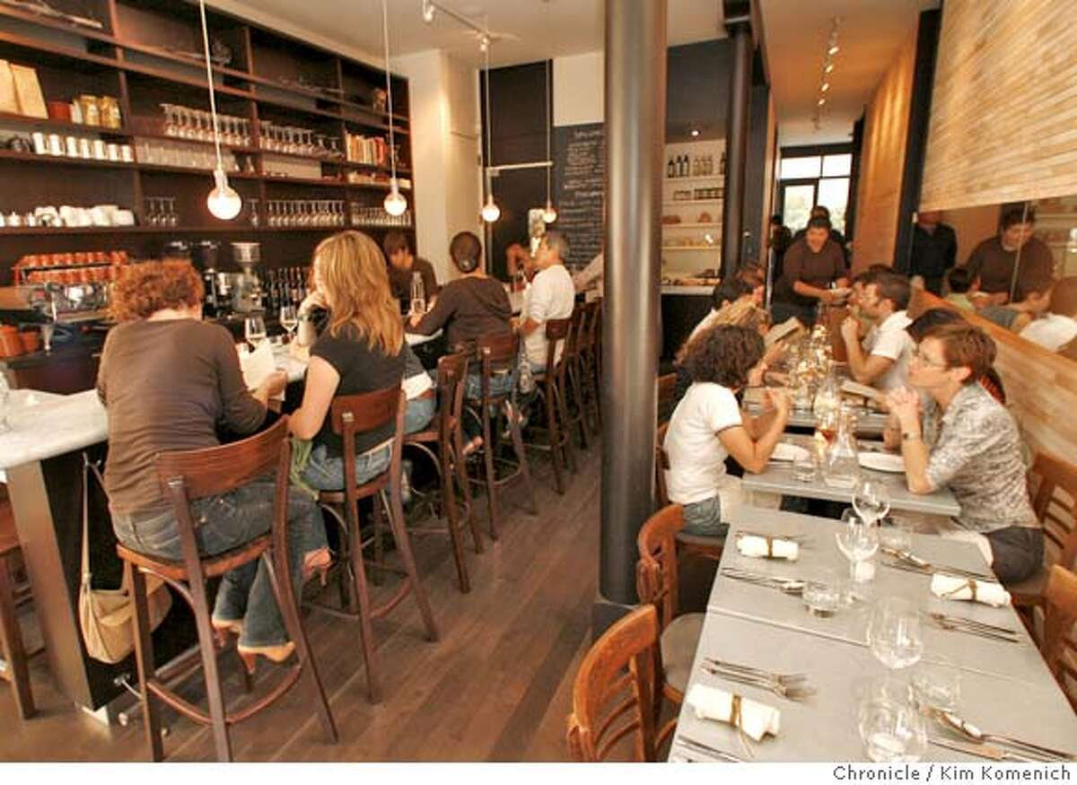 � d.05BARBAMBINO_131_KK.JPG Barbambino Cafe and Wine Bar at 2931 16th St. in San Francisco features Italian dishes and has a