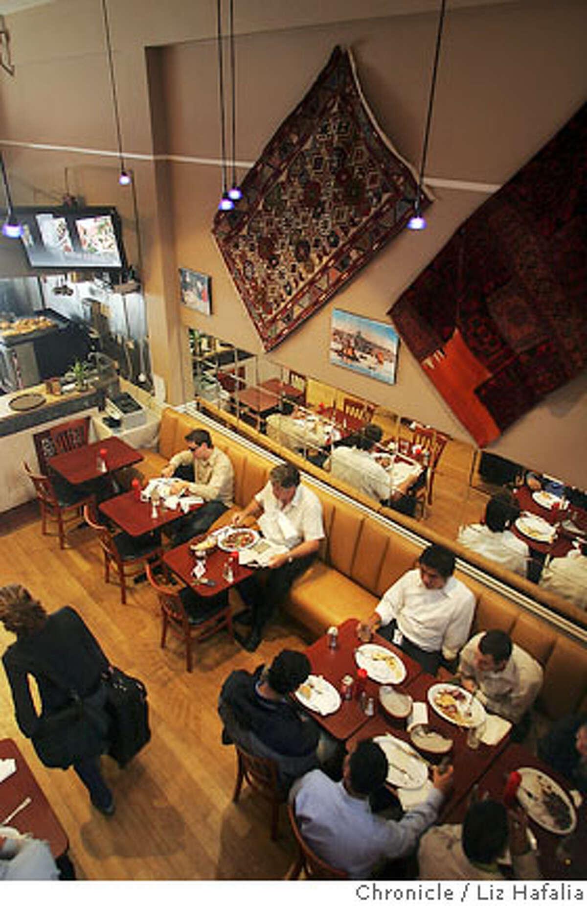 BARGAIN19_009_LH_.JPG Sultan Kebab, a Turkish restaurant on Larkin St.. Liz Hafalia/The Chronicle/San Francisco/7/11/07 ** cq