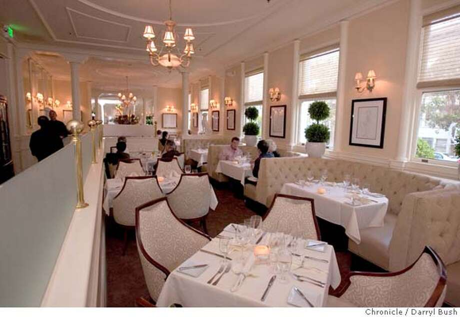 � d.15cafemajestic_0010_db.JPG Cafe Majestic dining room, at the Hotel Majestic in San Francisco, CA, on Wednesday, June, 20, 2007. photo taken: 6/20/07 Darryl Bush / The Chronicle ** (cq) MANDATORY CREDIT FOR PHOTOG AND SF CHRONICLE/NO SALES-MAGS OUT Photo: Darryl Bush