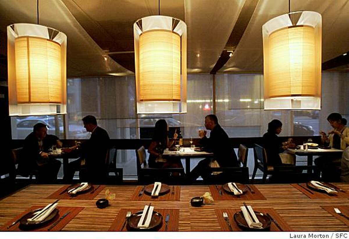 Bong Su, a new Vietnamese restaurant located at 311 3rd Street, features a long banquet table in it's dining room.