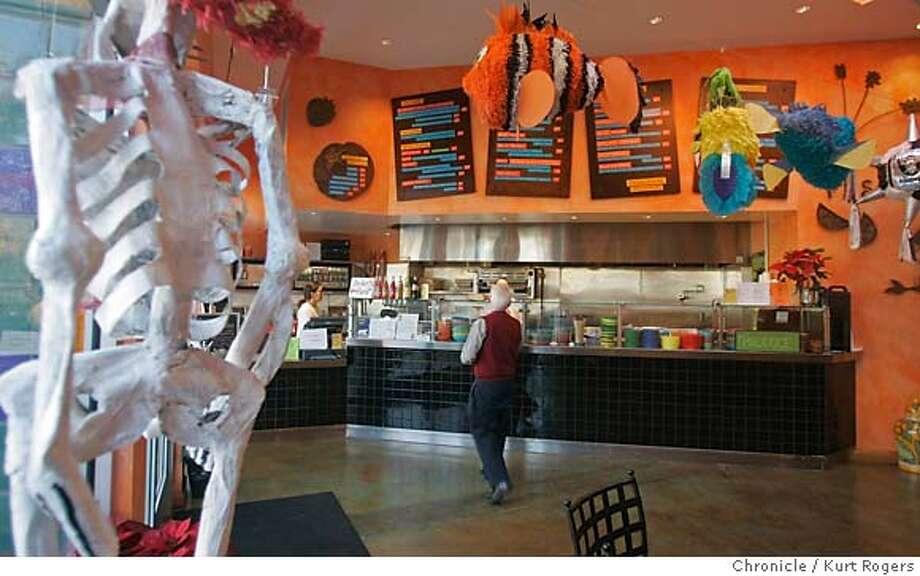 La Calaca Loca Taqueria in Oakland Kurt Rogers Oakland SFC  The Chronicle BARGAIN24_LACALACALOCA_00003_kr.JPG MANDATORY CREDIT FOR PHOTOG AND SF CHRONICLE/ -MAGS OUT Photo: Kurt Rogers