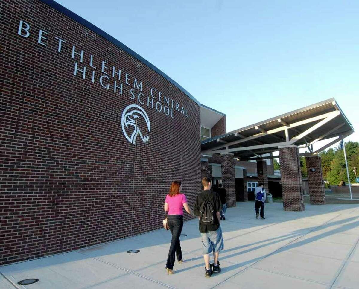 Bethlehem Central High School.