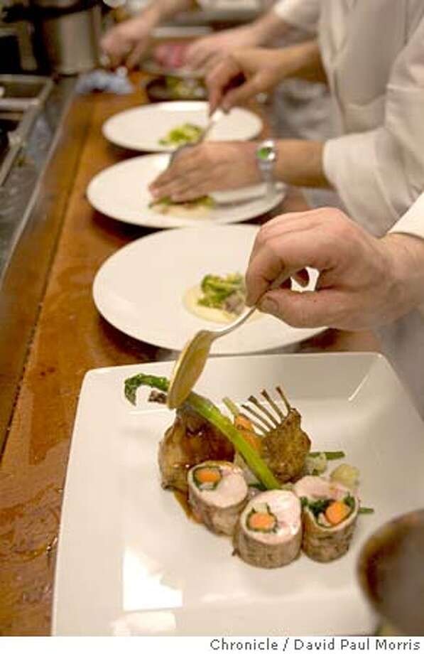 SAN FRANCISCO, CA - : La Folie restaurant in San Francisco, CA . Top 100 restaurants in the Bay Area (Photo by David Paul Morris/The Chronicle Mandatory credit for photographer and the San Francisco Chronicle Photo: David Paul Morris