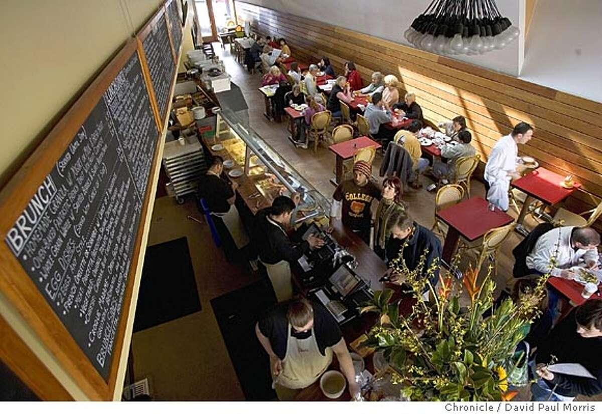 San Francisco CA-FEBRUARY 5: Inside the RIGOLO cafe in San Francisco, California on Saturday February 5, 2005 Photo by David Paul Morris / The Chronicle