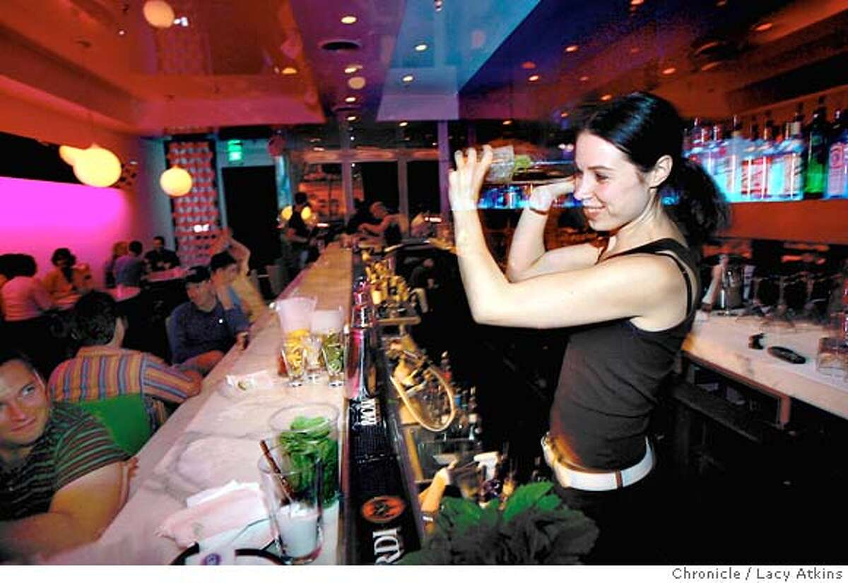 Lime a new cool bar/restaurant near the Castro that serves a very eclectic, but well heeled clientele. For plates: please shoot the fish tacos; the three mini burgers and the deviled eggs._A picture of chef Sharon Ardiana would , Sunday Sept.12, 2004._LACY ATKINS/SAN FRANCISCO CHRONICLE