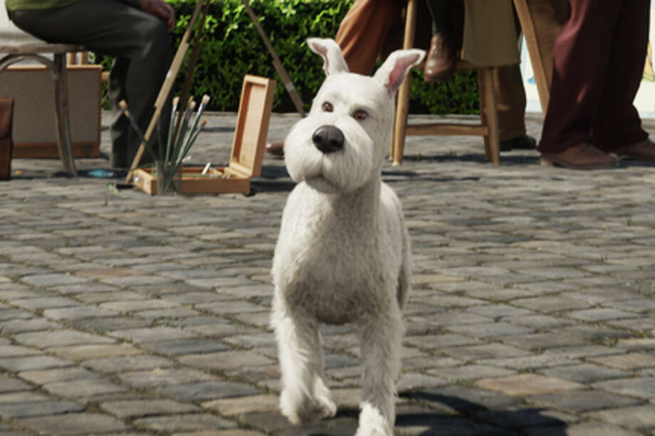 "Snowy in ""The Adventures of Tintin."" / © 2011 Paramount Pictures.  All Rights Reserved."