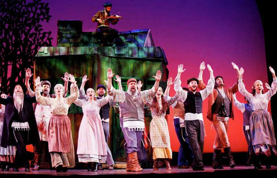 "The touring production of ""Fiddler on the Roof"" stops at the Majestic Theater Tuesday through Dec. 11 as part of the Broadway Across America — San Antonio series. Photo: Courtesy Photo"