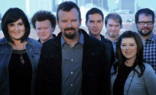 Casting Crowns' Mark Hall said The Story Tour puts the stories of the Bible into chronological order in a multimedia presentation. Courtesy David Dobson/ Provident Label Group Photo: David Dobson/Provident Label Group