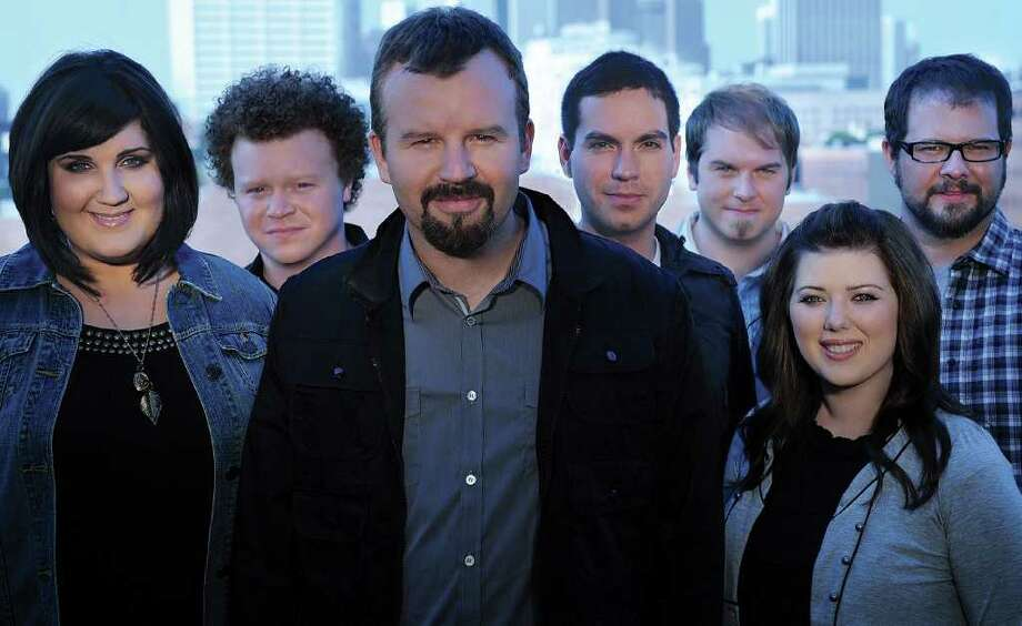 Casting Crowns -- Megan Garrett (from left), Brian Scoggin, Mark Hall, Hector Cervantes, Chris Huffman, Melodee DeVevo and Juan DeVevo -- says its calling is to sing to believers. Photo: David Dobson/Provident Label Group