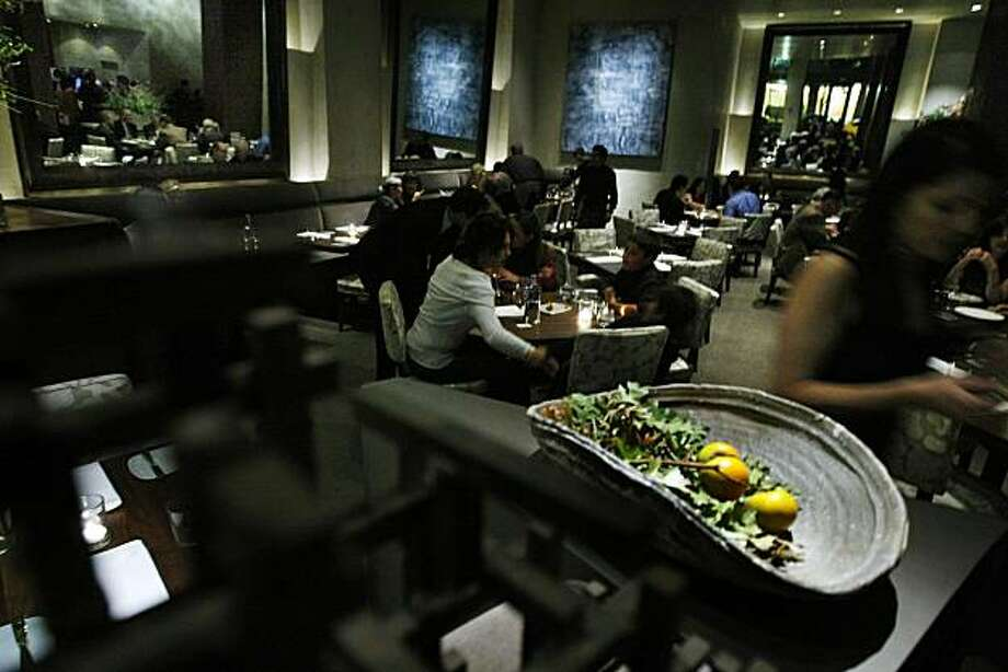 Michael Mina, a new restaurant, opened Tuesday night, October 20, 2010, San Francisco, Calif. Photo: Adm Golub, The Chronicle