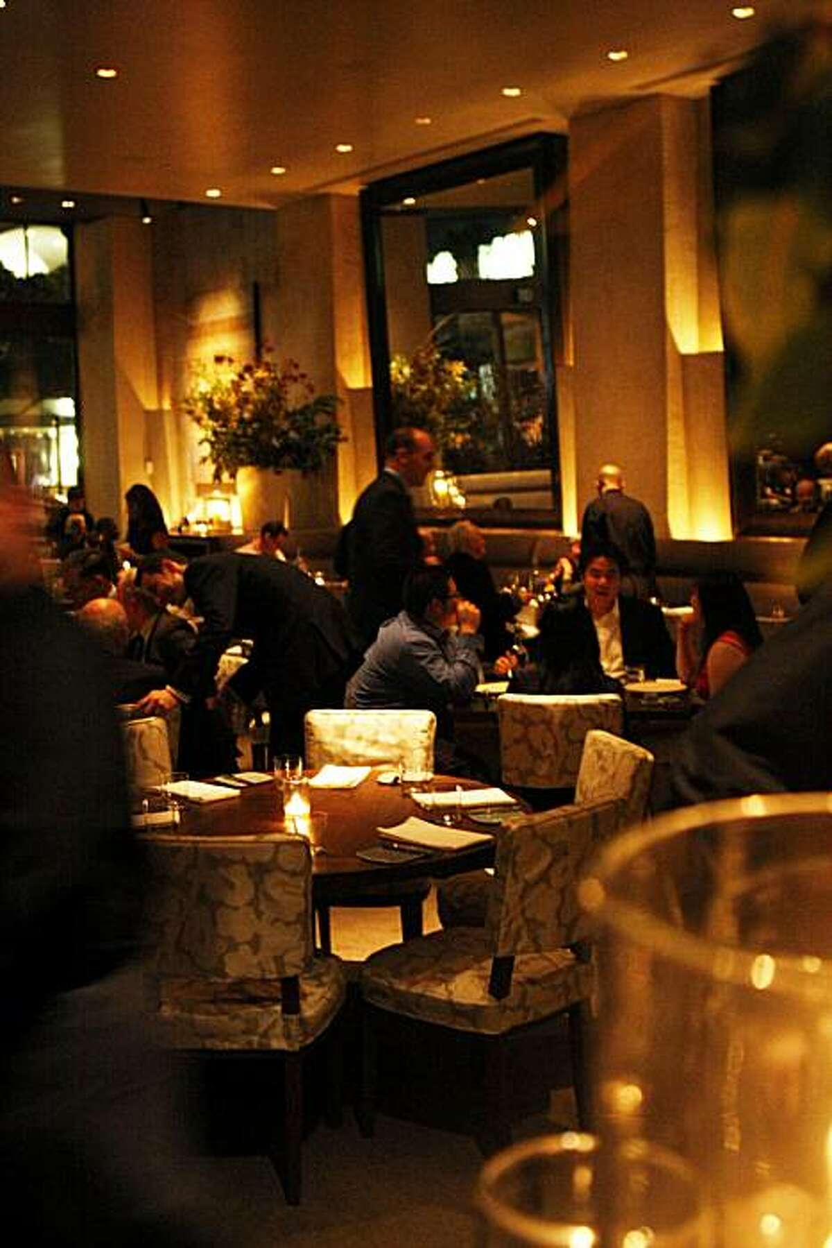 Michael Mina, a new restaurant, opened Tuesday night, October 20, 2010, San Francisco, Calif.