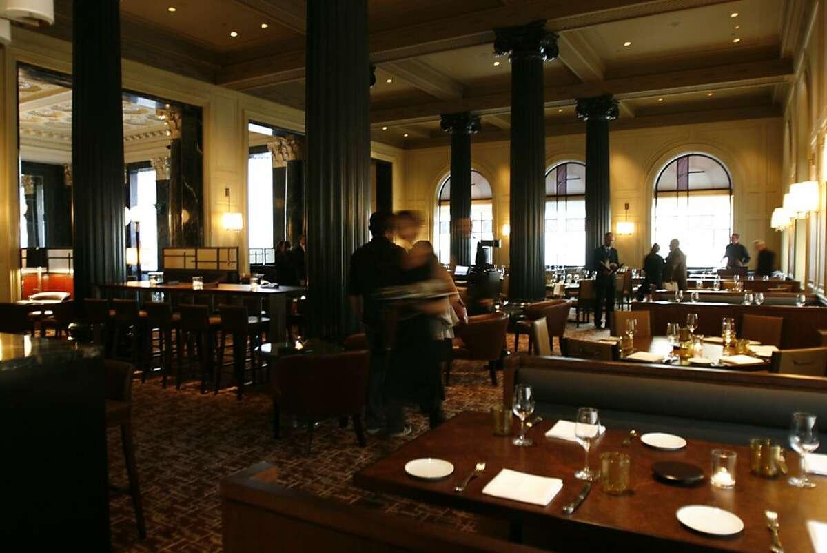 Michael Mina's fifth Bourbon Steak location, in the Westin St. Francis.