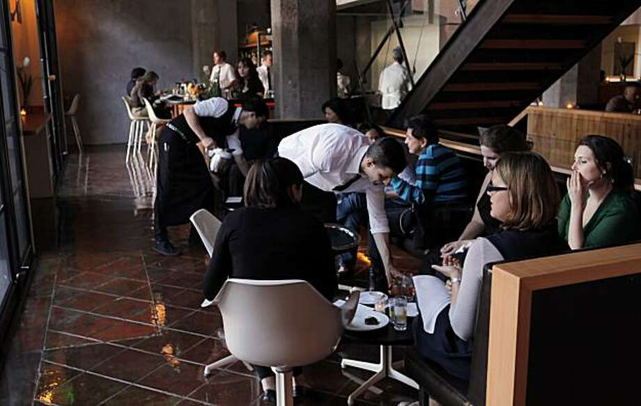 The waiting area off the dining room at Thermidor restaurant in San Francisco, Calif., shown here on Tuesday, June 9, 2010. Photo: Carlos Avila Gonzalez, The Chronicle