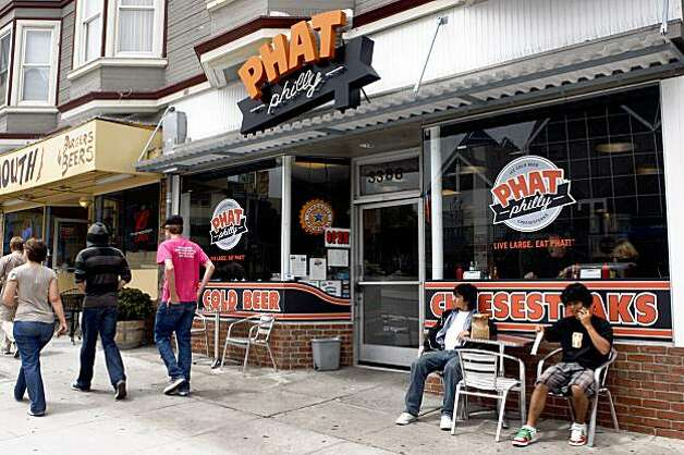 Phat Philly Cheesesteaks In the Mission district in San Francisco, Calif.,  on Tuesday, July 21, 2009. Photo: Liz Hafalia, The Chronicle