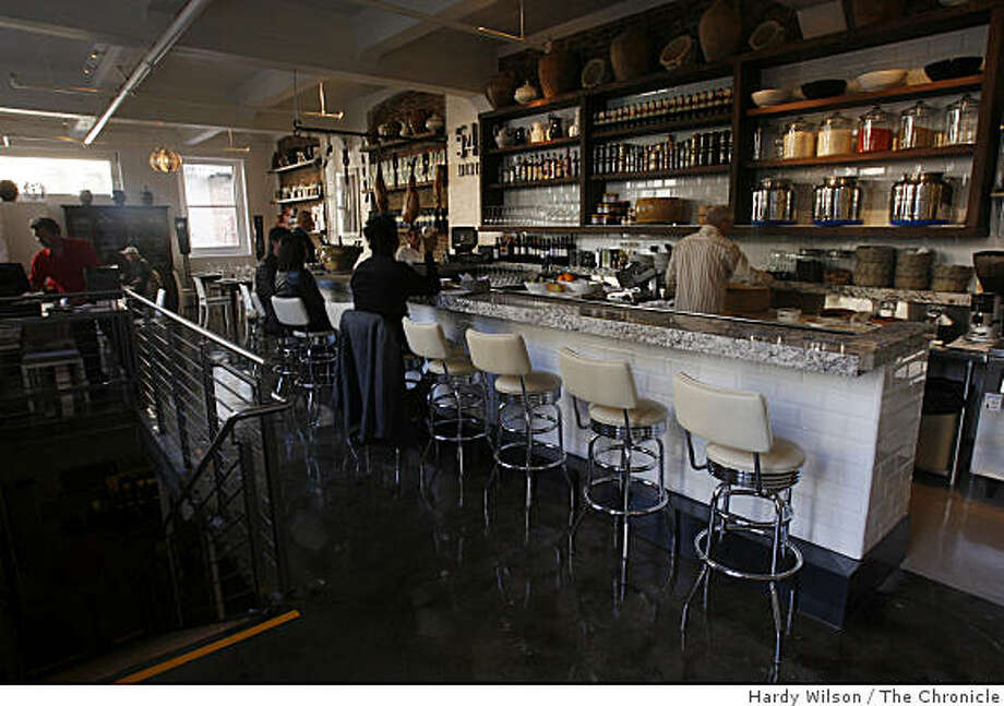 View of one of the dining areas at 54 Mint in Mint Plaza in San Francisco, Calif., on Tuesday, May 19, 2009. Photo: Hardy Wilson, The Chronicle