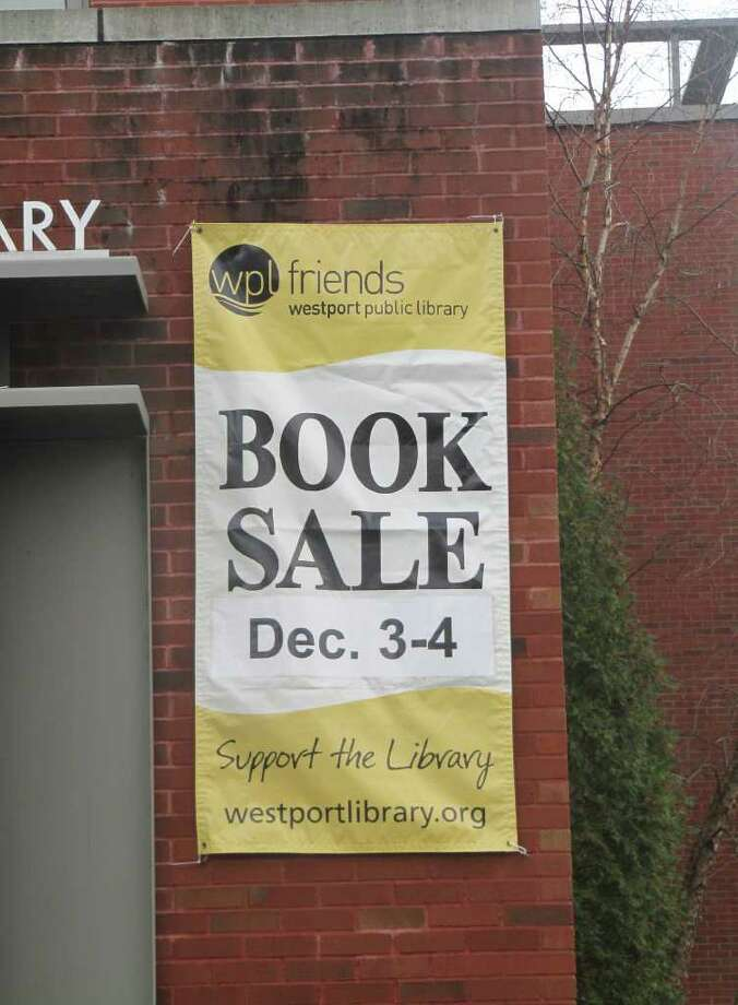 The Westport Public Library's holiday book sale - its third book sale of the year - takes place this weekend. This book sale, according to library officials, features books in mint or near mint condition, as the event is meant to help people make affordable gift purchases for the holidays. Photo: Kirk Lang