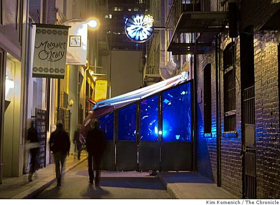 Gitane Restaurant is located at 6 Caude Lane in San Francisco, Calif. Photographed on Saturday, Jan. 3, 2009. Photo: Kim Komenich, The Chronicle